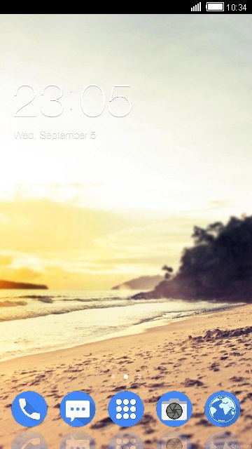Theme for Xolo Era 3X Beach wallpaper HD