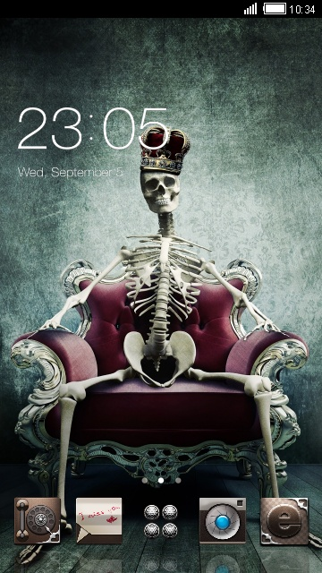 Skull theme skeleton king skull wallpaper