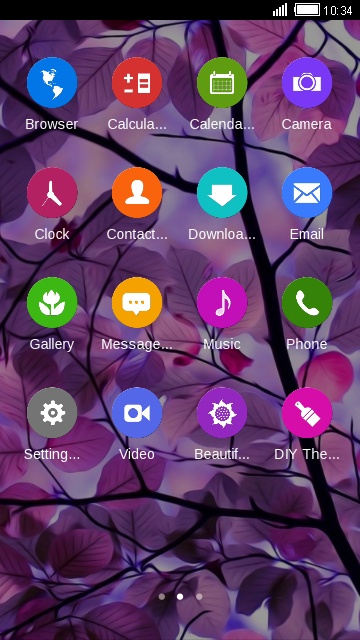 Download Tizen OS theme for your Android phone — CLauncher