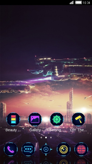 HD city Miui theme & Wallpaper for Redmi