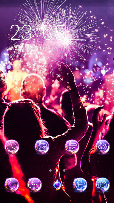 Download Holi festival theme for your Android phone — CLauncher