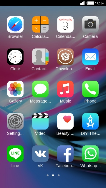 iPhone7 theme