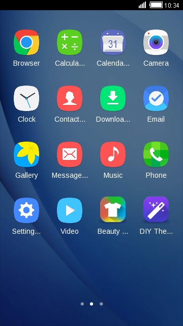 Theme For Galaxy J5 2016 Hd Free Android Theme U Launcher 3d