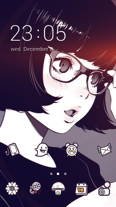Anime Girly theme