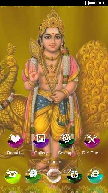 Download lord muruga theme for your android phone clauncher lord muruga thecheapjerseys Image collections