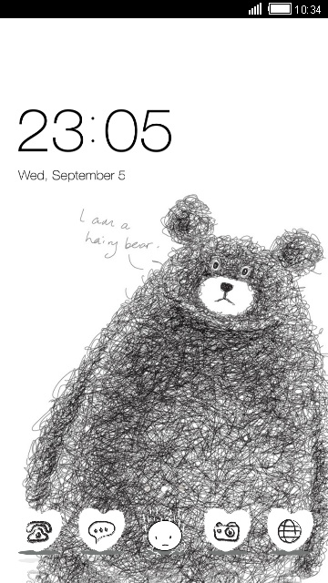 Cute Drawing Bear