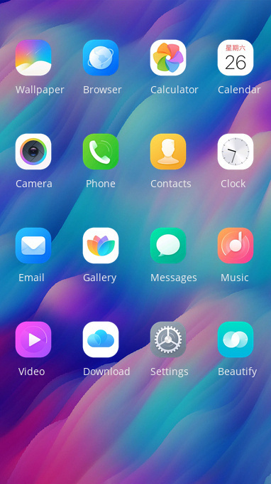 realme 3 free android theme – U launcher 3D
