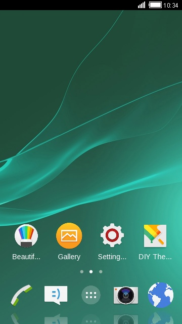Theme for Sony Xperia Z3