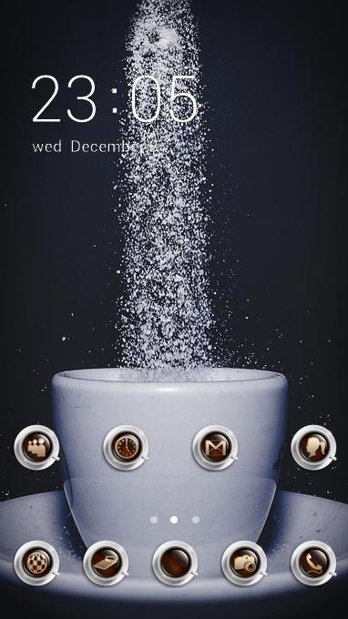 Cup Sugar Dark