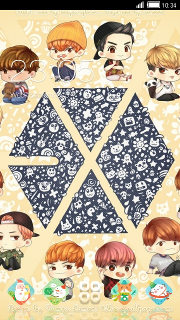 Download exo theme for your Android phone — CLauncher