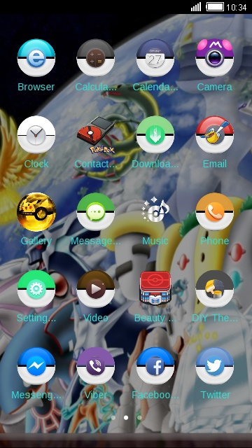 download pokemon theme for your android phone clauncher