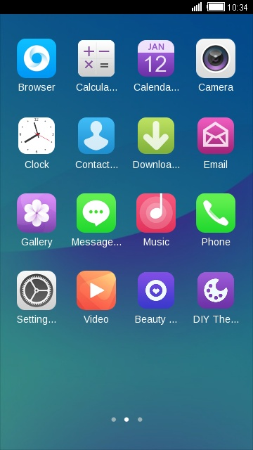 Download Theme for Gionee A1 Wallpaper theme for your
