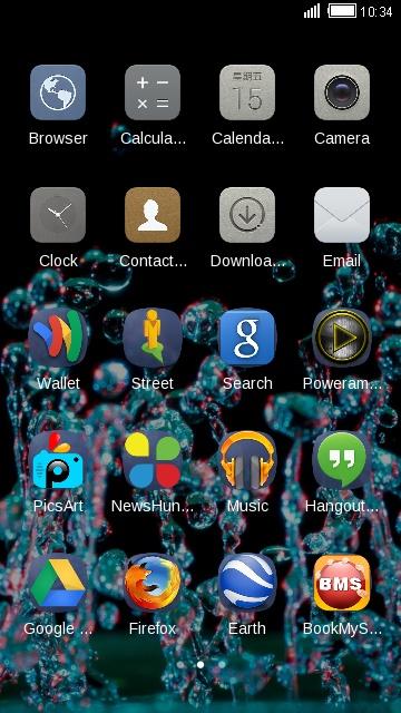 Theme for Huawei P9: Waterdrop