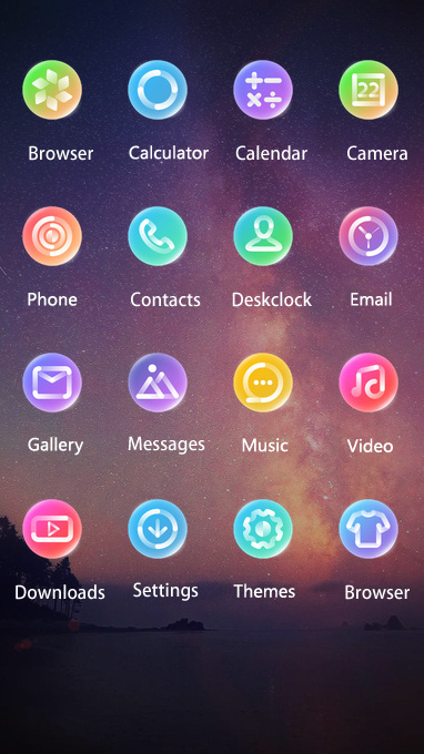 Download night sky star theme for your android phone clauncher night sky star thecheapjerseys Images