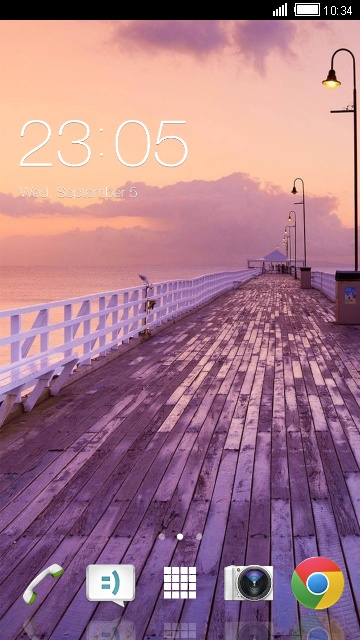 Theme for Sony Xperia R1