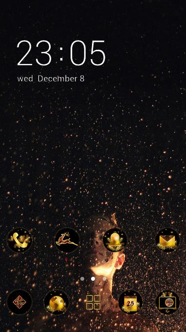 sparkle stars theme