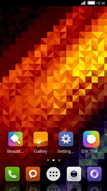 Theme For Xiaomi Redmi 5 Plus Abstract Wallpaper Free Android Theme