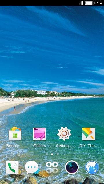 Theme for OPPO Mirror 5s HD