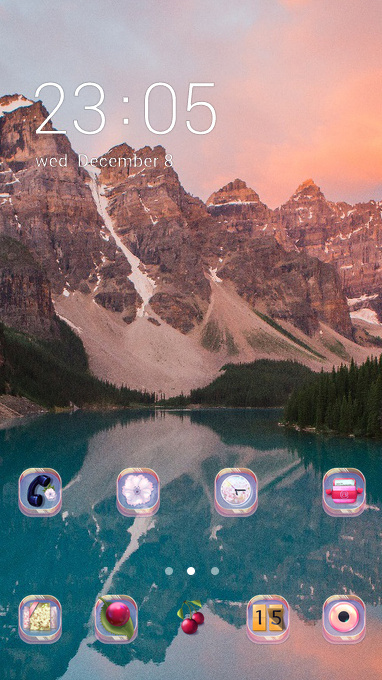 moraine lake theme