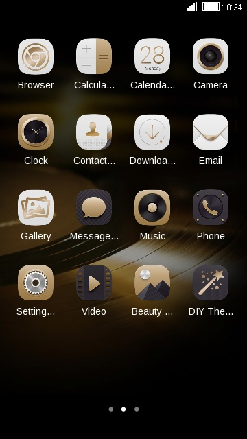 Theme for HUAWEI Ascend Mate 7