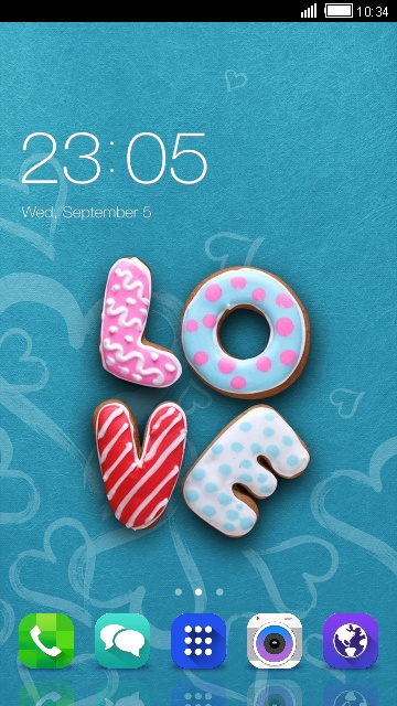 Cute Love Theme For Samsung Galaxy Win Pro Free Android Theme U