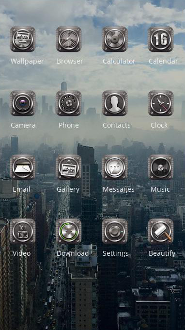 skyscraper theme