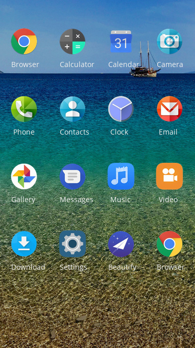 Nokia 8 Sirocco Free Android Theme U Launcher 3d