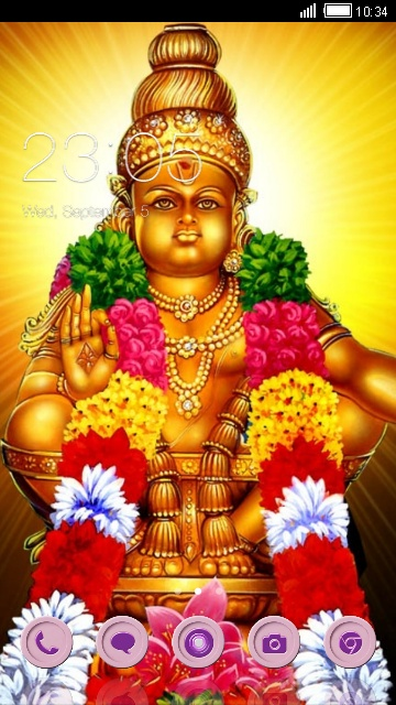 Download Ayyappa Theme For Your Android Phone CLauncher