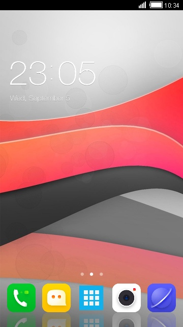Theme for Lenovo K860