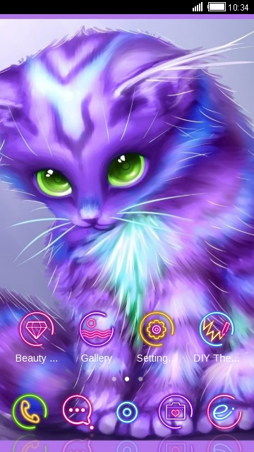 Colorful Kitty