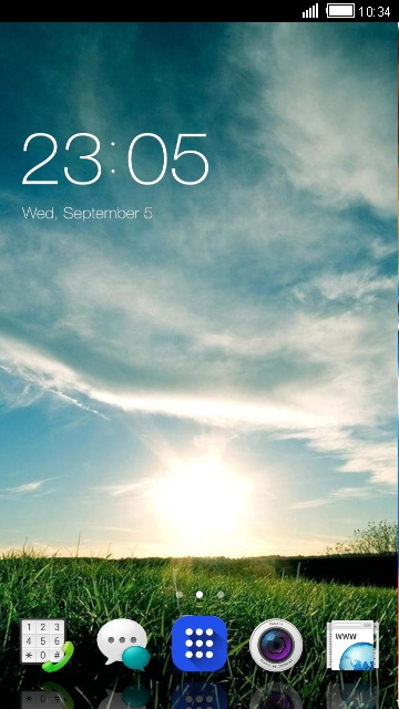 Theme for Oppo Yoyo HD