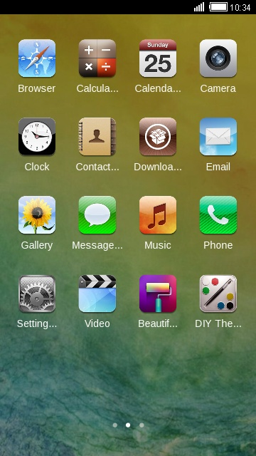 Theme For Iphone 6s Plus Free Android Theme U Launcher 3d