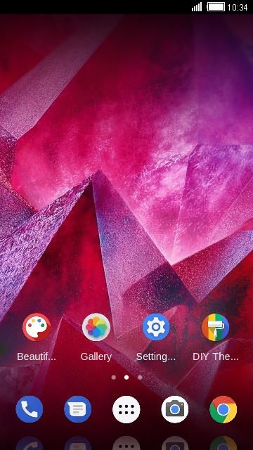 Themes for Motorola Moto Z2 Play free android theme – U launcher 3D