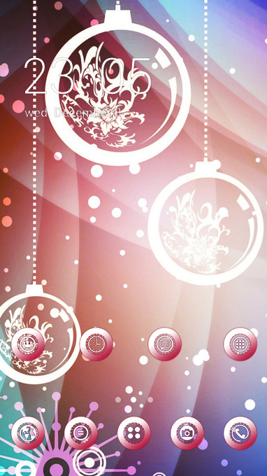 Abstract theme new year background wallpaper