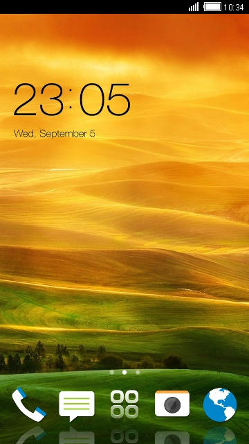 Theme for HTC Desire X HD