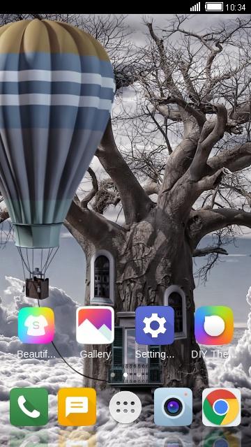 Theme for Videocon V1543 Balloon Wallpaper