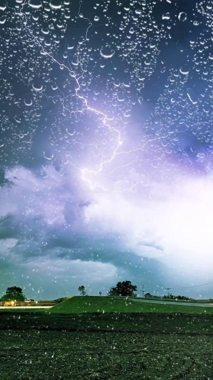 field thunderstorm