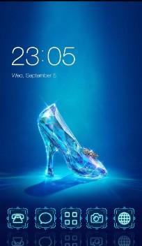 Crystal Blue High Heel Theme