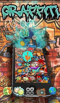 Graffiti theme street art