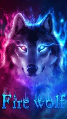 wolf blue theme