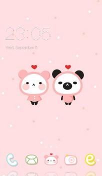 Love Pink Theme