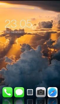 iPhone X: Amazing Sky Theme