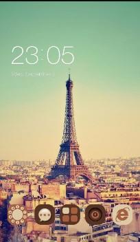 Vintage Pairs Eiffel Tower