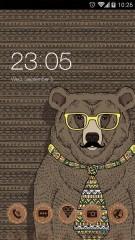 Hipster Animals Theme