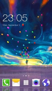 J2,J3 Samsung Galaxy theme