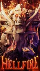 fire hell skull