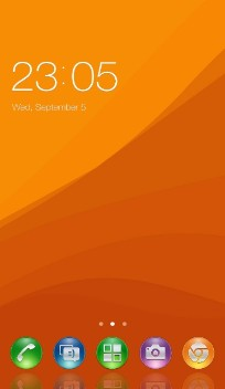 Themes for Sony Xperia active