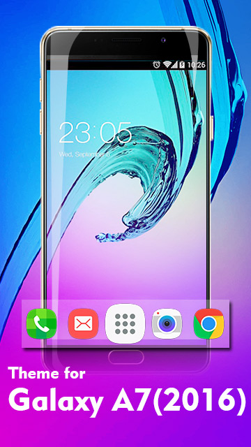 Theme for Galaxy A7 (2016) HD