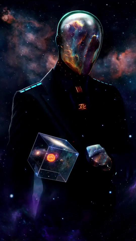 Sci-fi waiter