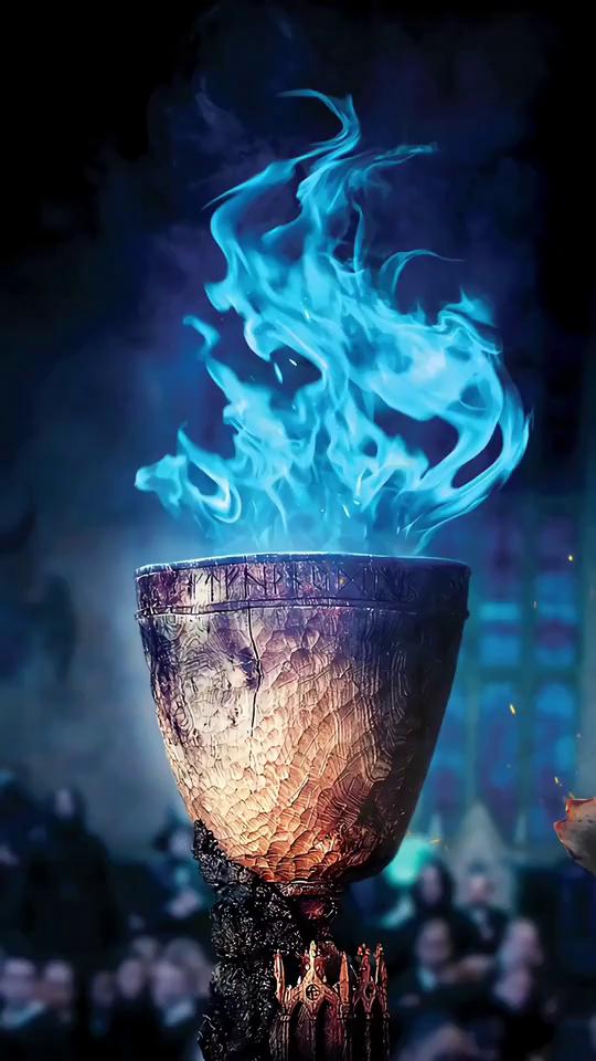 flame teacup